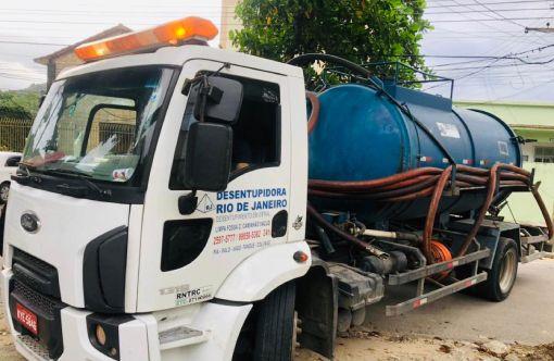 Desentupimento com caminhão Sewer Jet - Desentupidora Rio de Janeiro